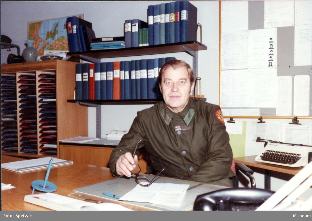 Lehto, Leo. Löjtnant. Kompaniadjutant, Kasernkomp. A 6.