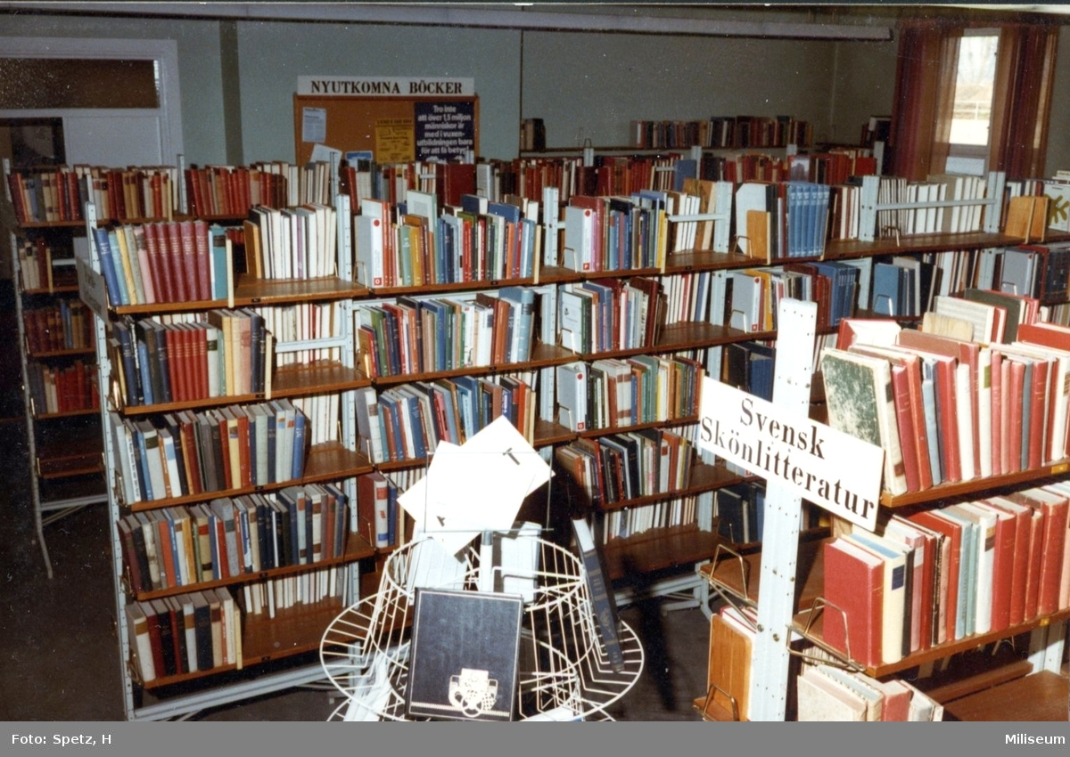 Biblioteket, A 6.