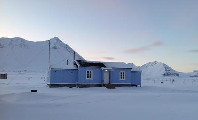 Fredet radiostasjon i Ny-Ålesund fra 1918 (Foto/Photo)