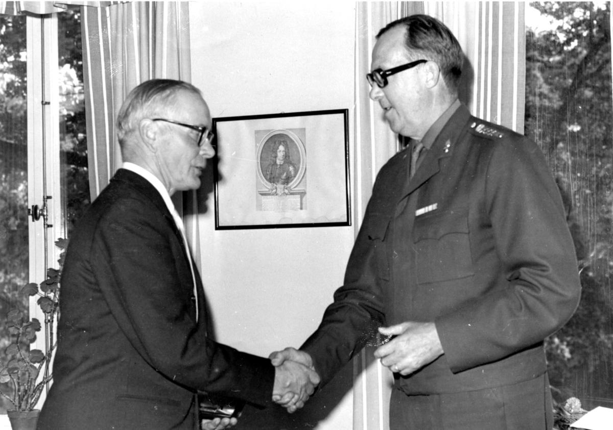 Nilsson och Överste Tegmo, A 6.