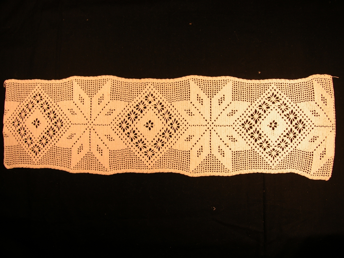 mønster med åttebladsroser