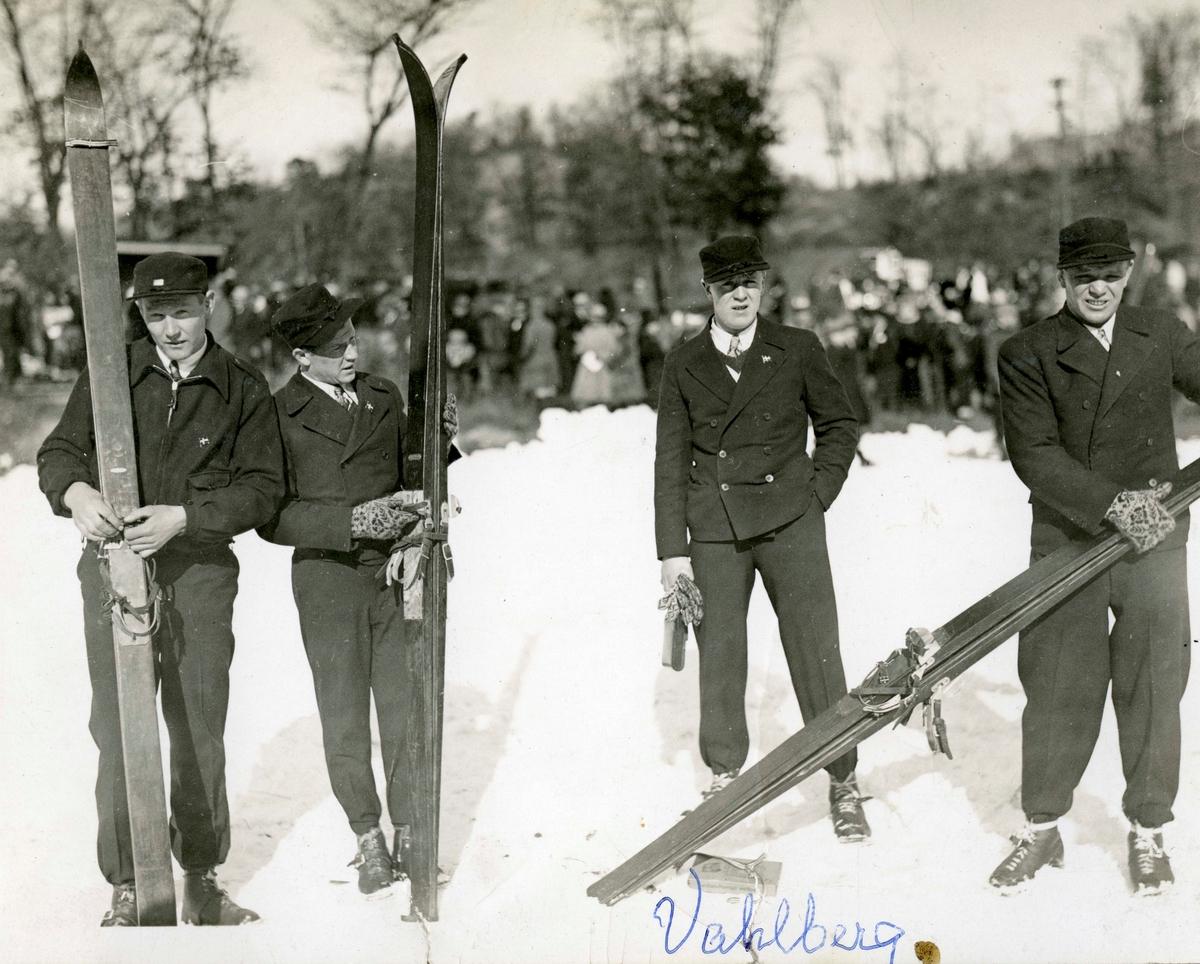 Norwegian skiers in Lake Placid