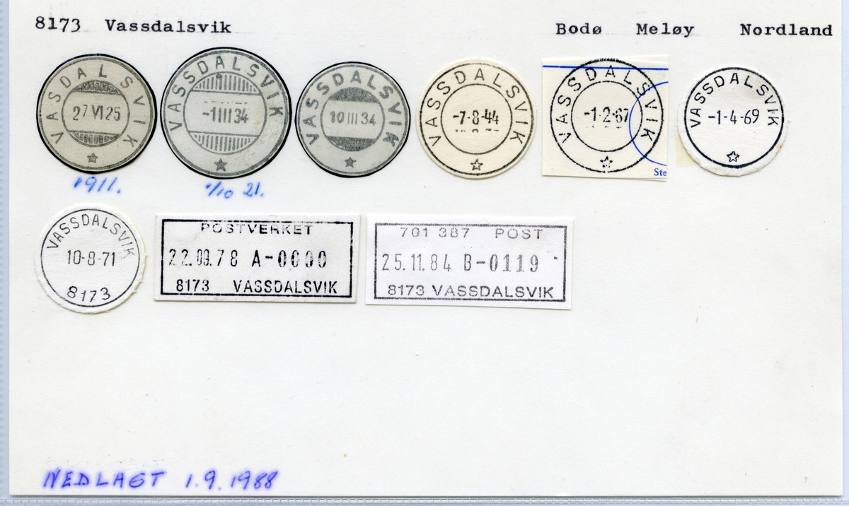 8173 Vassdalsvik, Bodø, Meløy, Nordland
