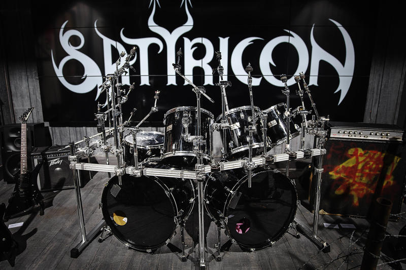 Trommesett, Satyricon (Foto/Photo)