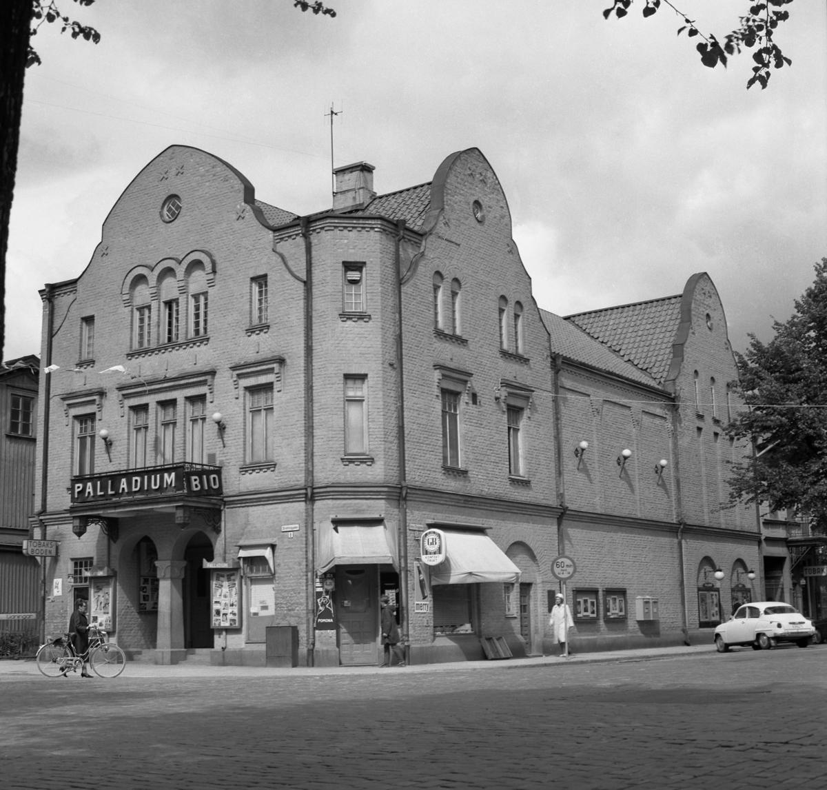Palladiumbiografen: Ritad av stadsarkitekt Carl Crispin, invigd 1924 och riven år 1969.