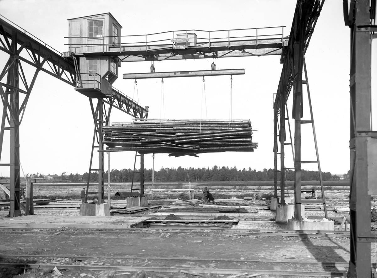 Skoghallsverken: Timmerupptagning