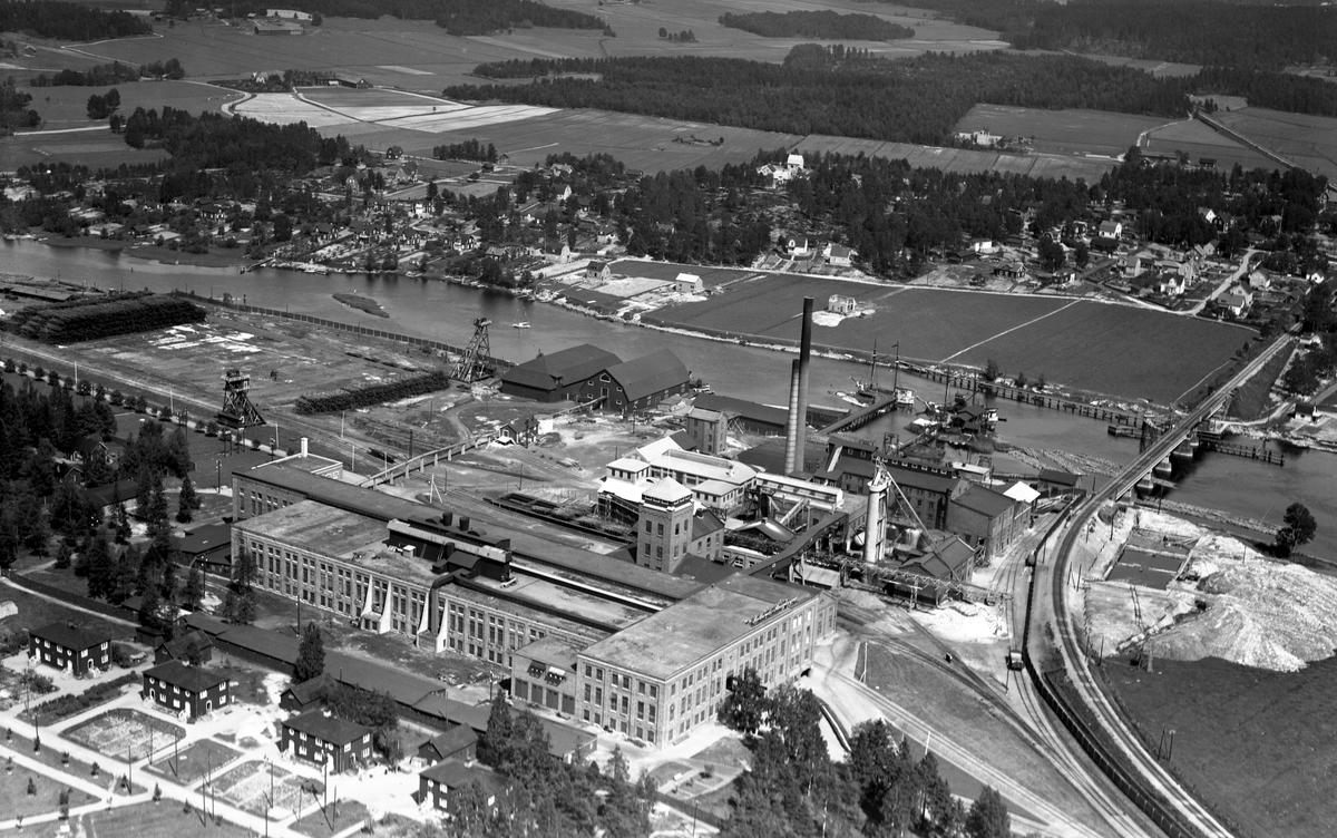 Billeruds bruk i Säffle 1935.