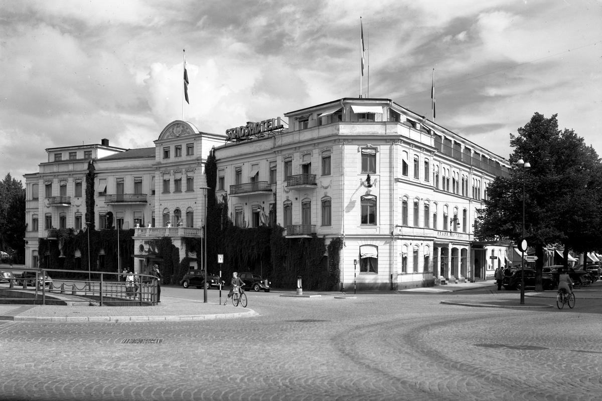 Statt i Karlstad år 1948.
