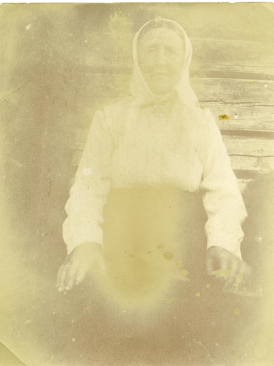 Portrett av Ingrid Olsdatter Listrud.