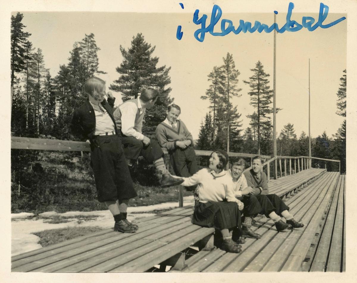 Kongsberg skiers at Hannibalbakken