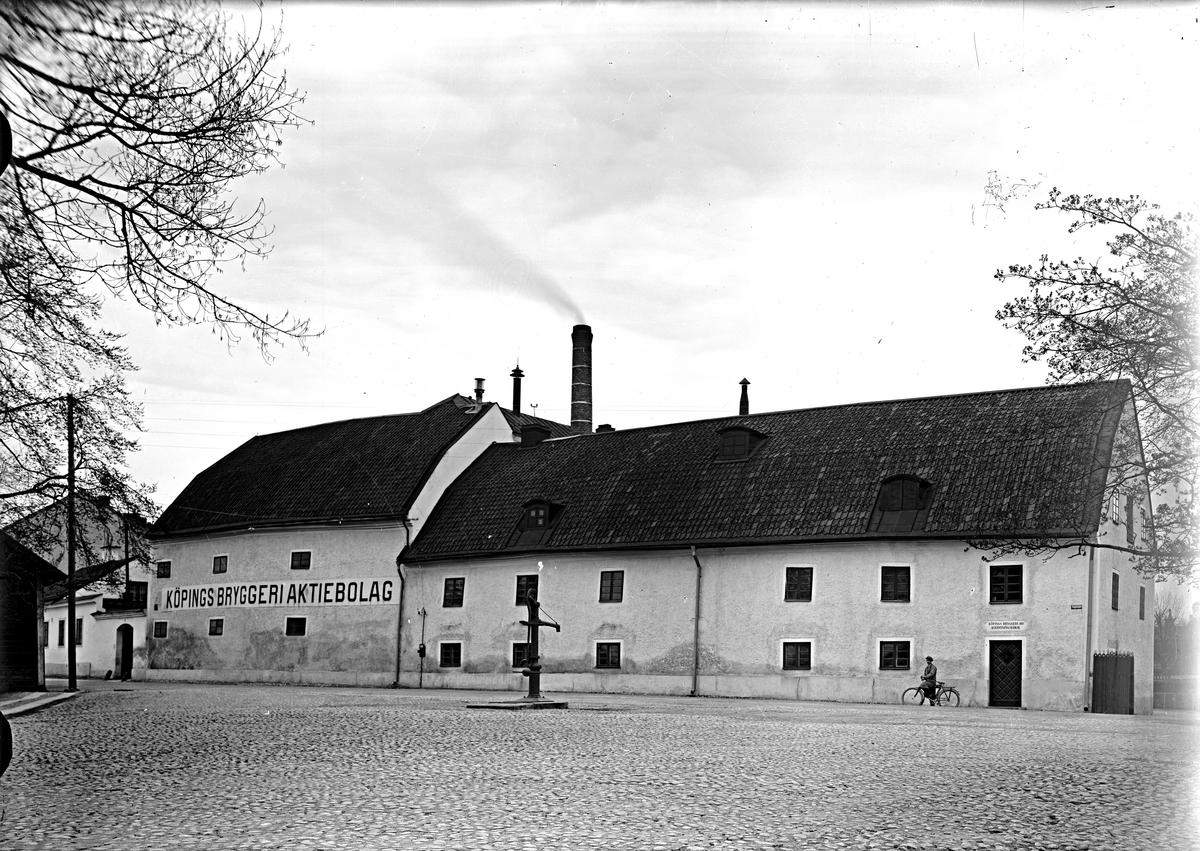 Köpings bryggeri 1930-tal. Fotograf E Sörman.