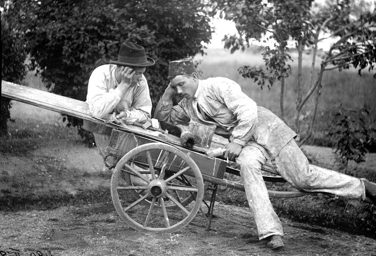 Målarlärlingar, 1910-tal.