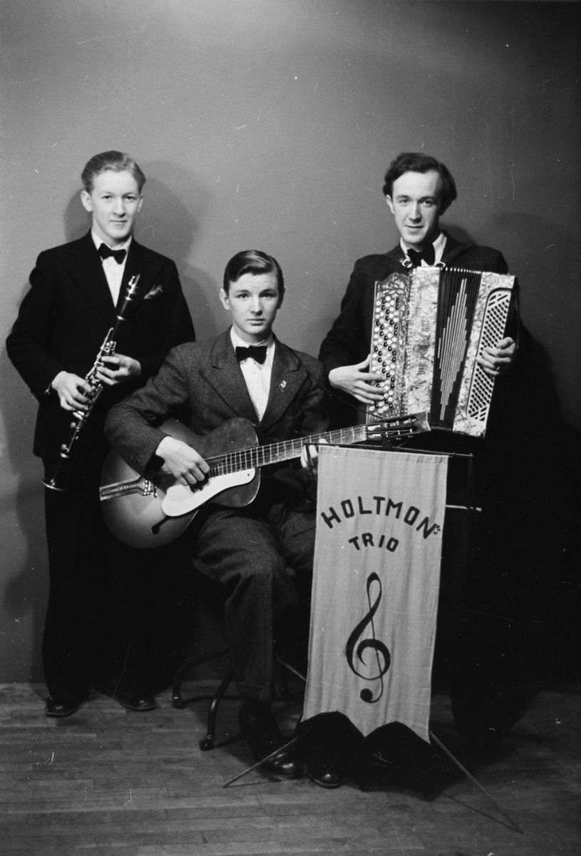 Holtmons trio,musikere