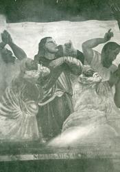 Foto av altartavla, Reftele kyrka.Nuvarande altartavla är g