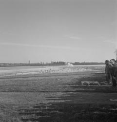 Befälsutbild.förbundets granatkastning, 14/3 1948.Det ryker