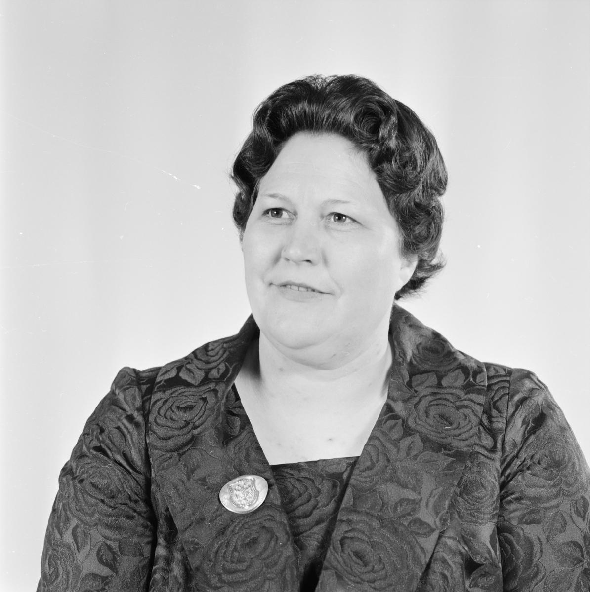 Elisabeth Wiborgh, Uppsala, maj 1962