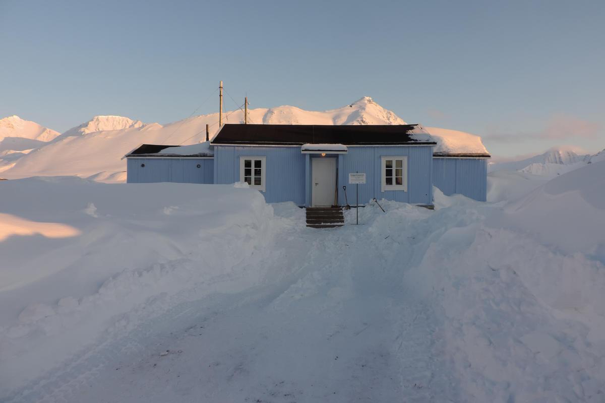 Radiotelegrafistasjonen i Ny-Ålesund, 2016 (Foto/Photo)