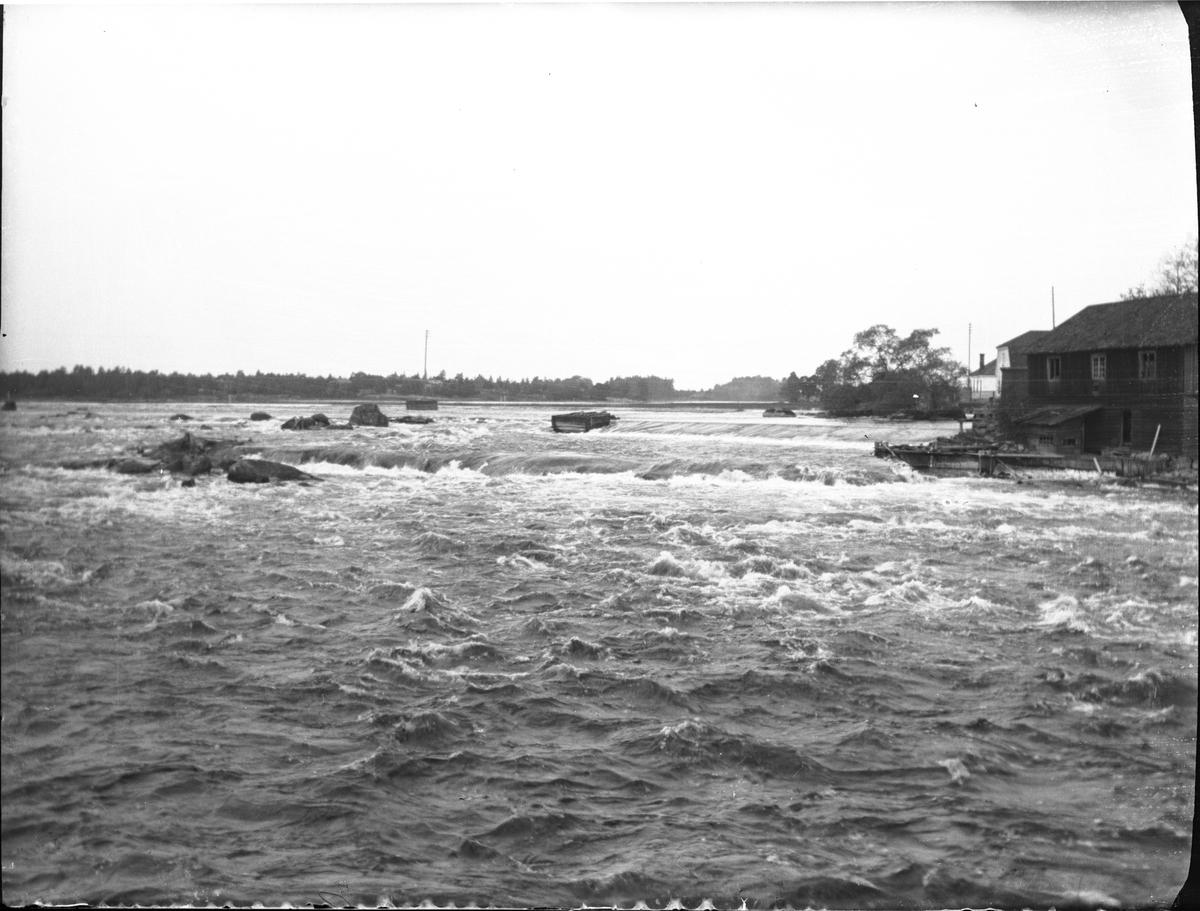 Gysinge, taget från första bron efter Flottningsmuseet.