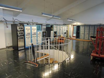 Radio- og kringkastingsstasjoner. Vigreskogen senderstasjon, Rogaland radio interiør 2 (Foto/Photo)