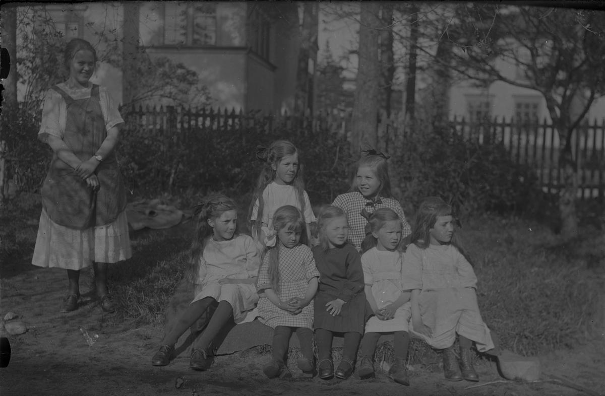 Barngrupp.
