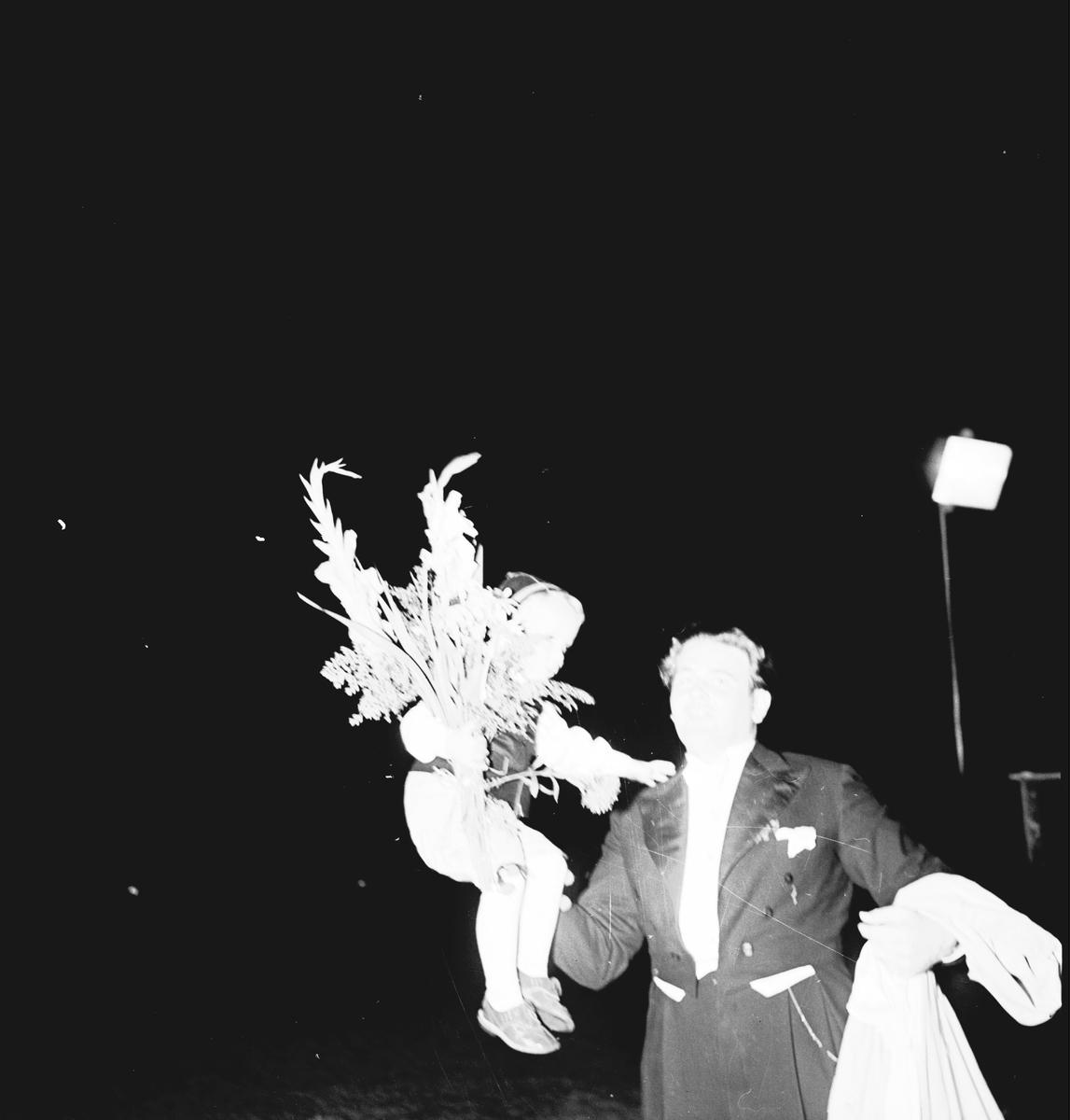 Konsum Alfa. Eldfesten på Strömvallen. Ett sekel i samverkan. Kooperationen. Den 27  Augusti 1944