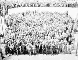 Barnsångartinget 10-årsjubileum  20 juni 1941