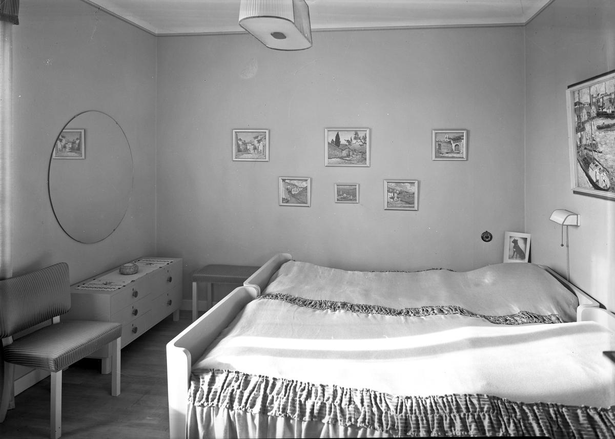 Lars Matton Ingenjör Interiör av våningen  September 1937