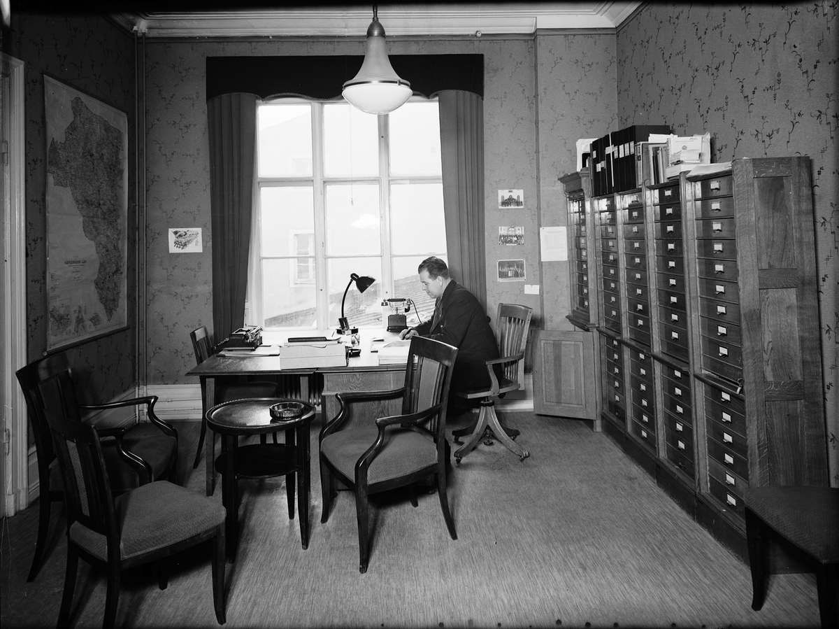 Gefle Posten Moderata förbundets lokal  1 februari 1938