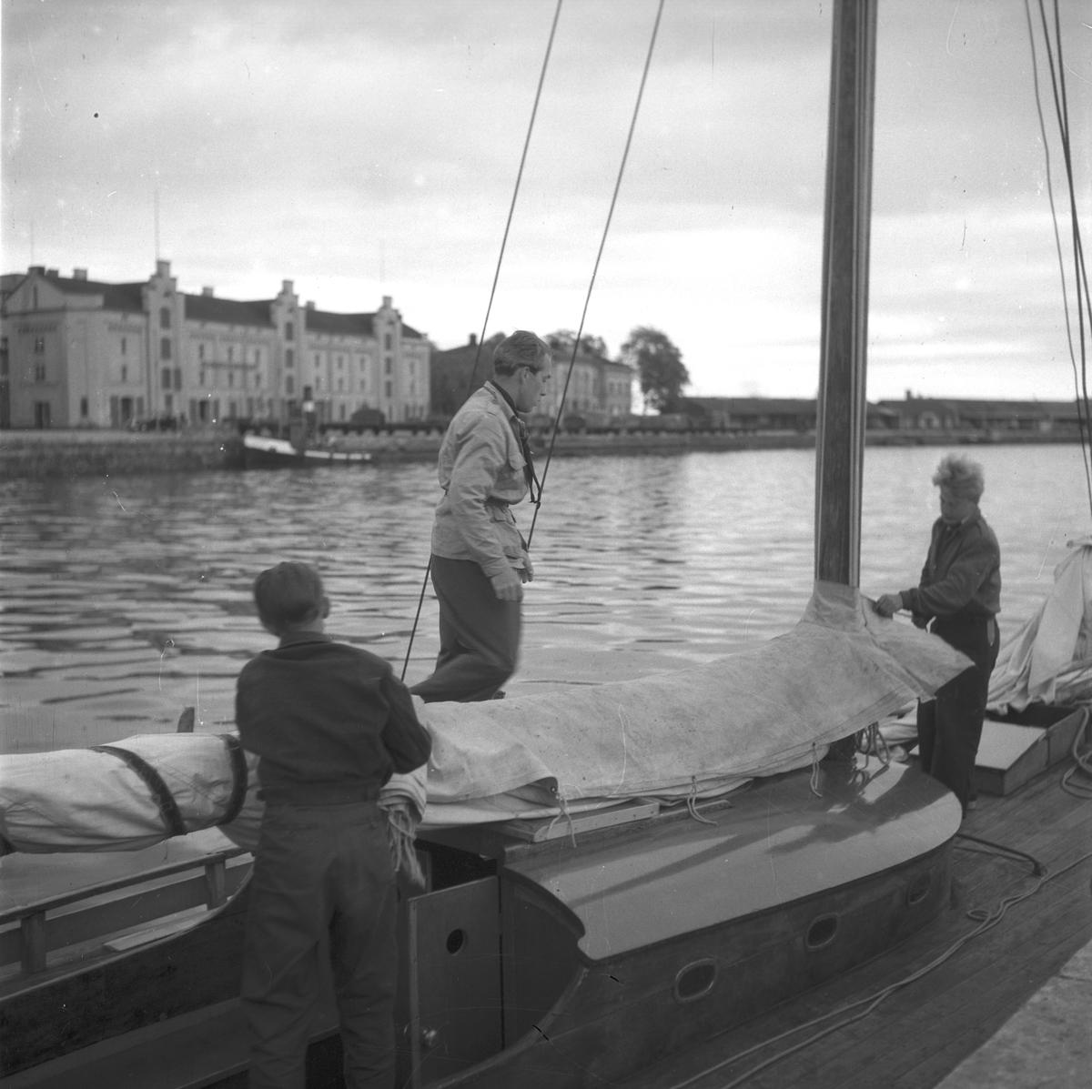 Metodistbåten, Gävle inre hamn. 12 juni 1948.