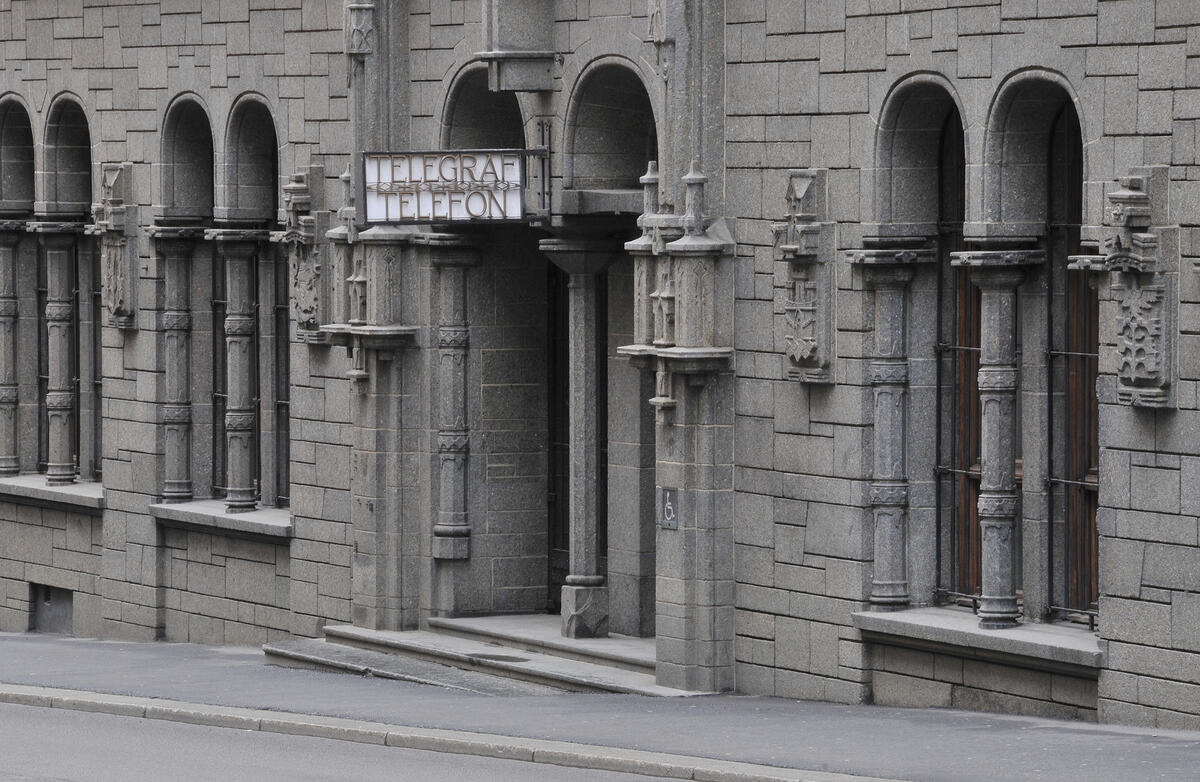 Telegrafbygg i Oslo (Foto/Photo)