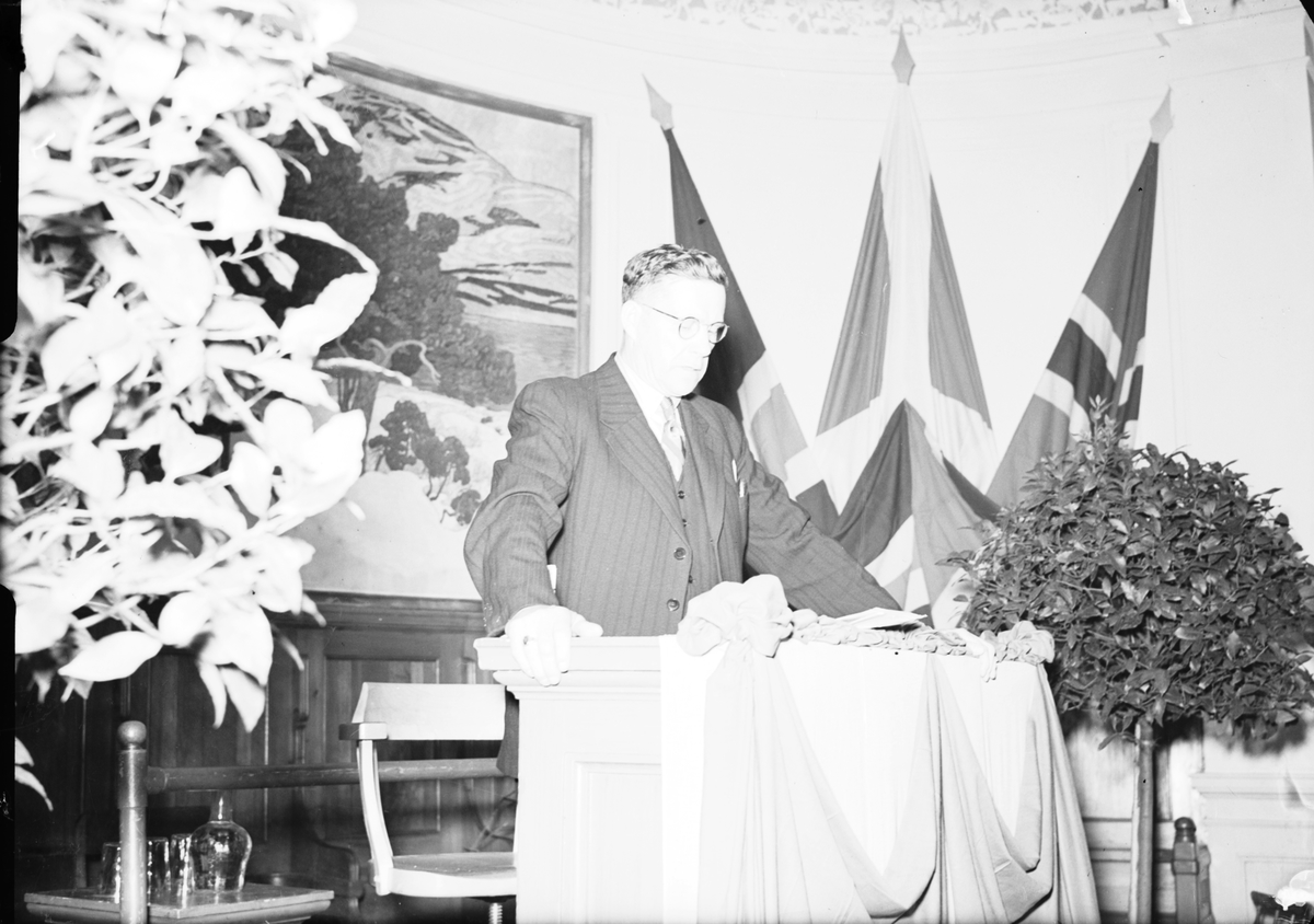 Skogs- och Flottningsförbundets Kongress. Medelpadsgruppen. Den 1 Juli 1941