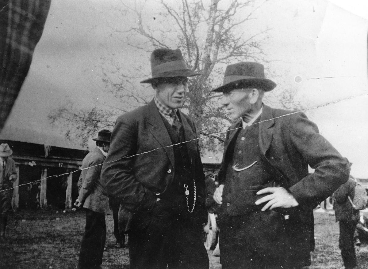 Torjus Hemmestveit og Hans Kleppen.