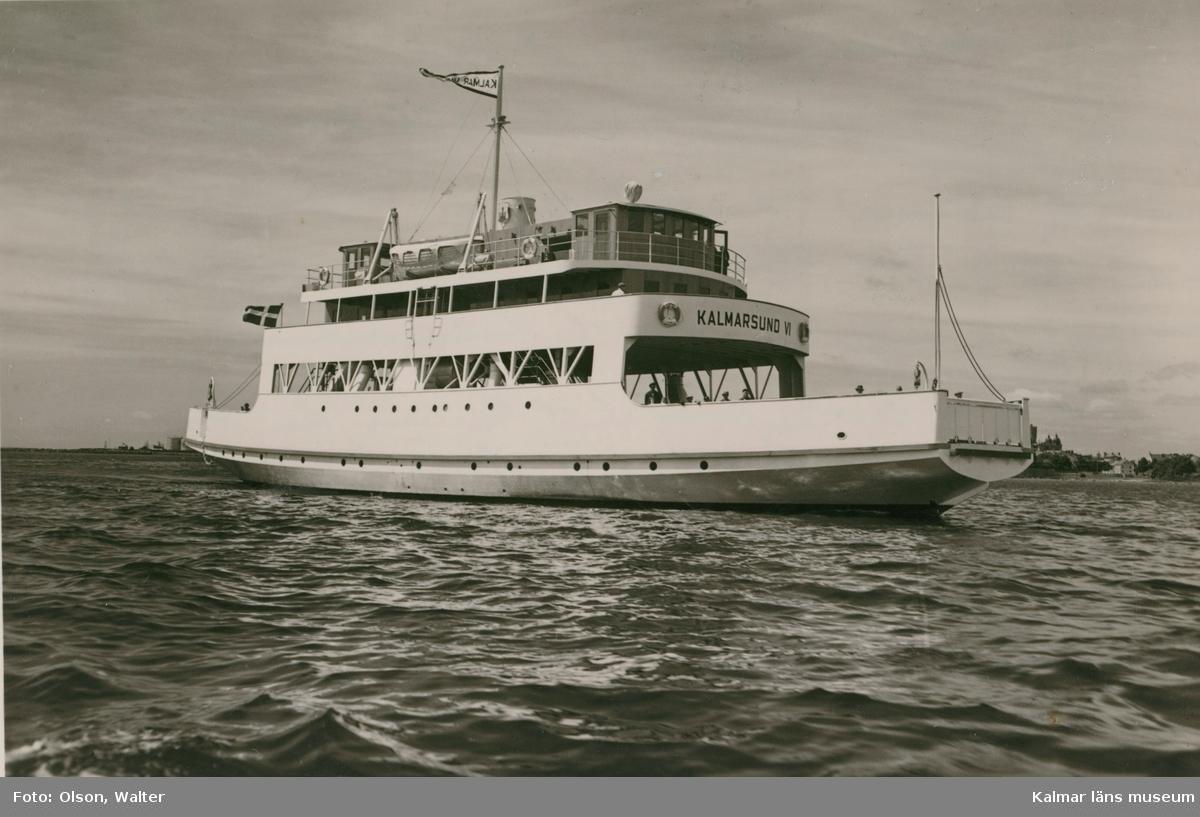 Kalmarsund VI, byggd på Kalmar varv 1951.