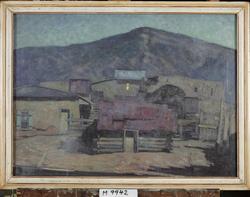 By i New Mexico [Oljemålning]