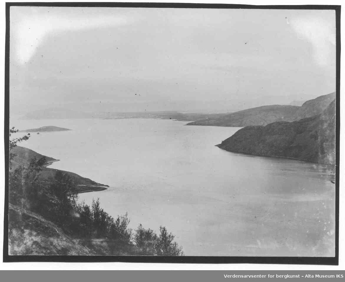 Oversikt Kåfjord, Auskarnes.