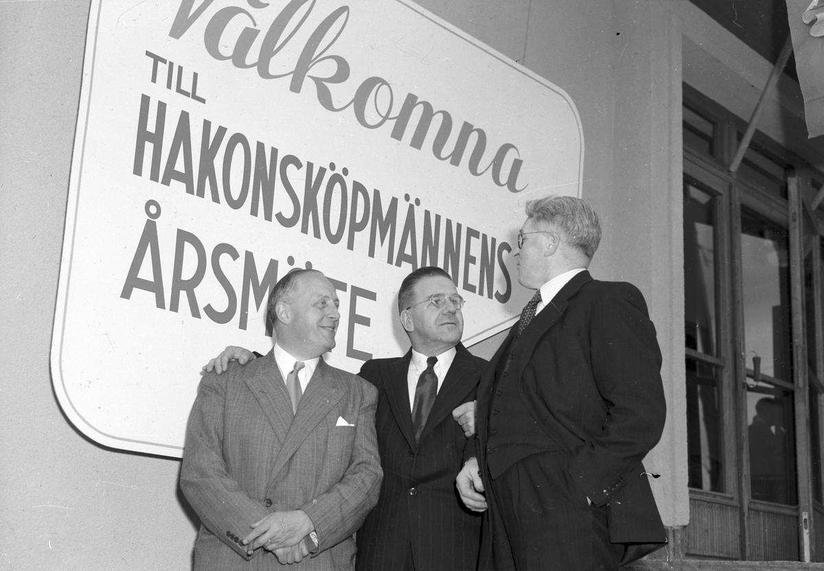 Hakonbolagets årsstämma på Rotundan. Den 14 juni 1949