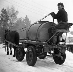 Lennart Sundberg och travstoet Huldra såg till att invånarna
