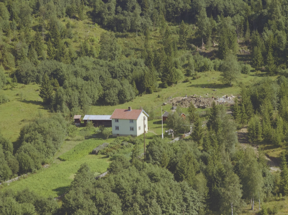 Hvitt bolighus, Heimstad, Bødalen, Vestre Gausdal