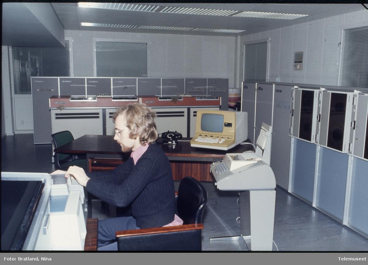 Datamaskiner arbeidssituasjoner Norsk Data