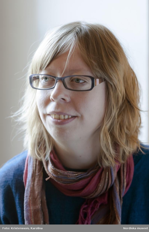 Porträtt Katarina Hellstrand, Nordiska museet, pedagog