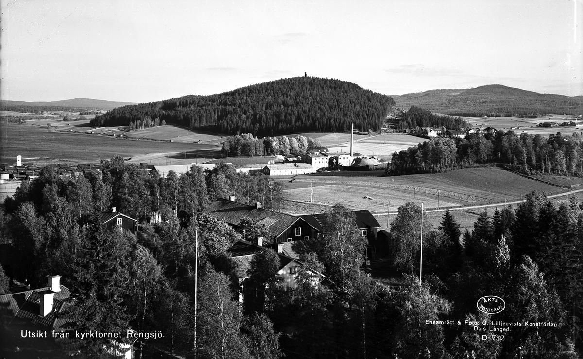 Utsikt från Kyrktornet, Rengsjö, Hälsingland