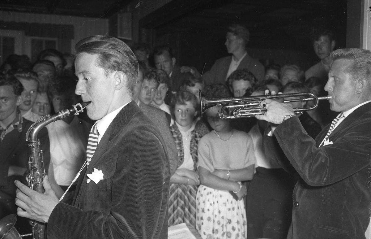 Jazz Society. Egil Monn-Iversens orkester på Vikhov