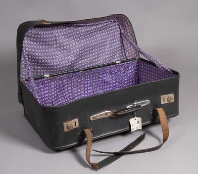 Koffert brukt under reise fra Pakistan.