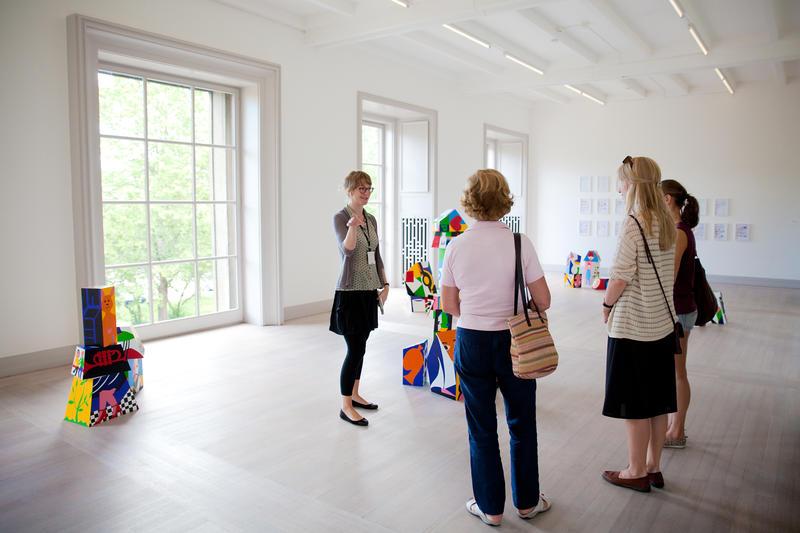 Privat omvisning med kunstformidler Petra Schlømer.