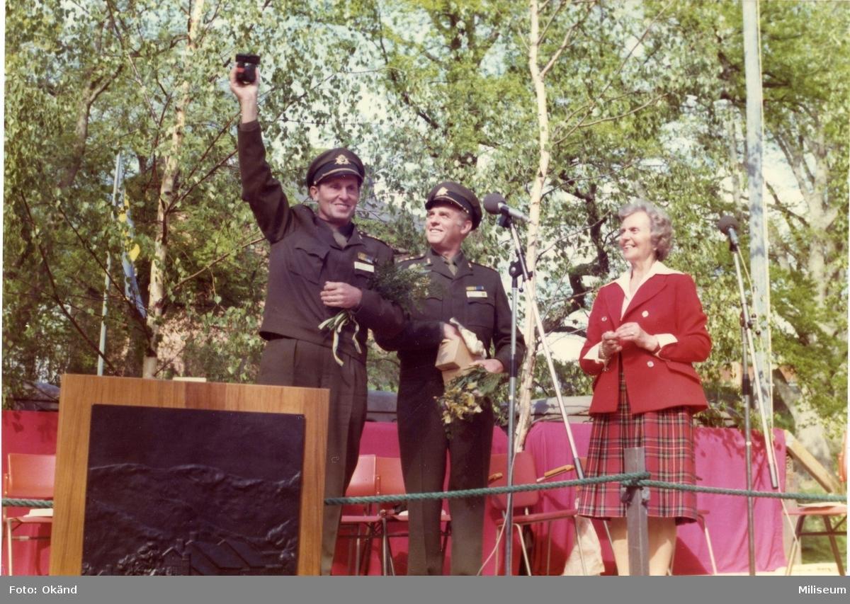 Hessler, Åke, övlt. Hans Spetz, fanjunkare. A 6.