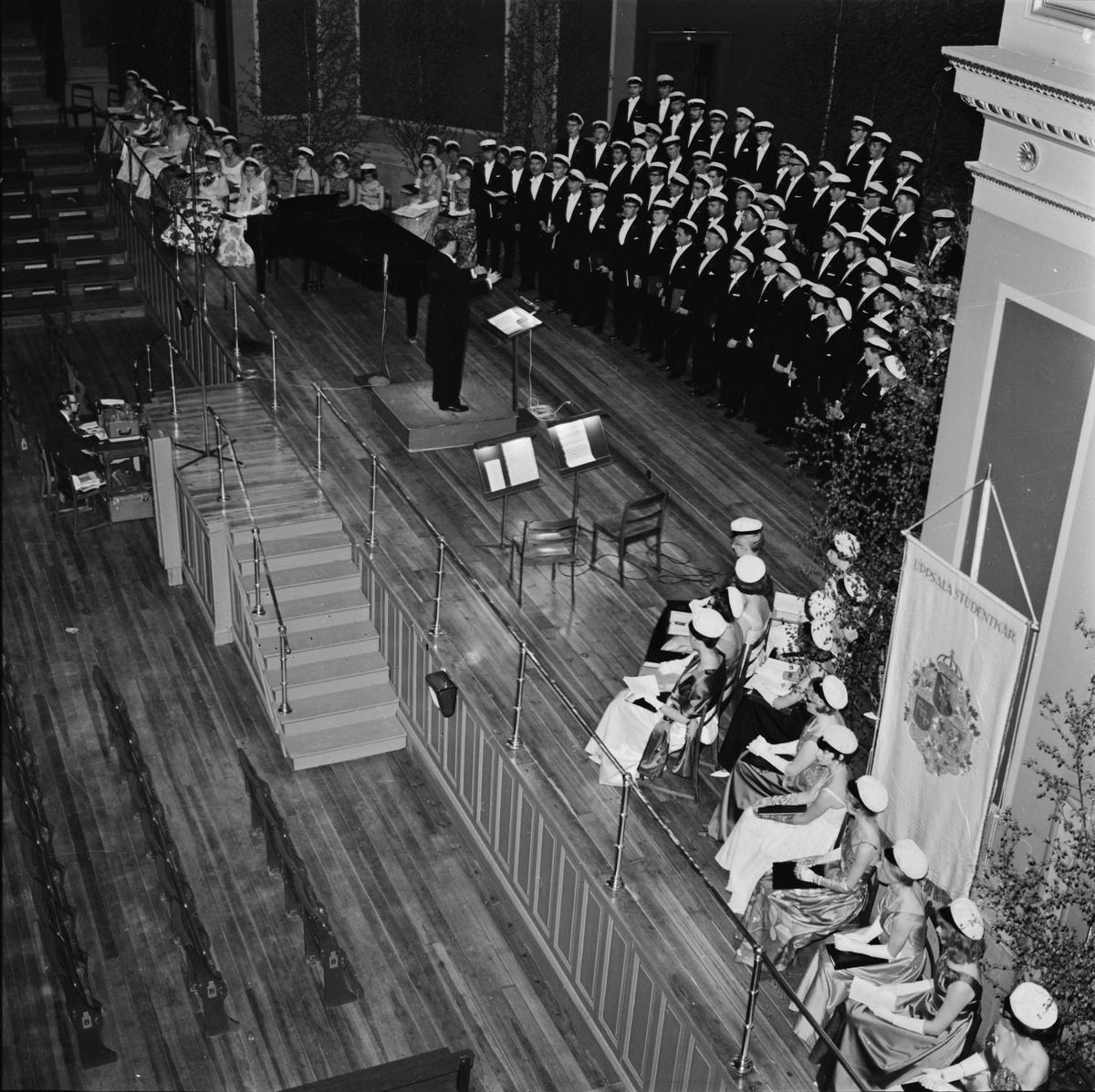 Allmänna sången, Uppsala, 1964