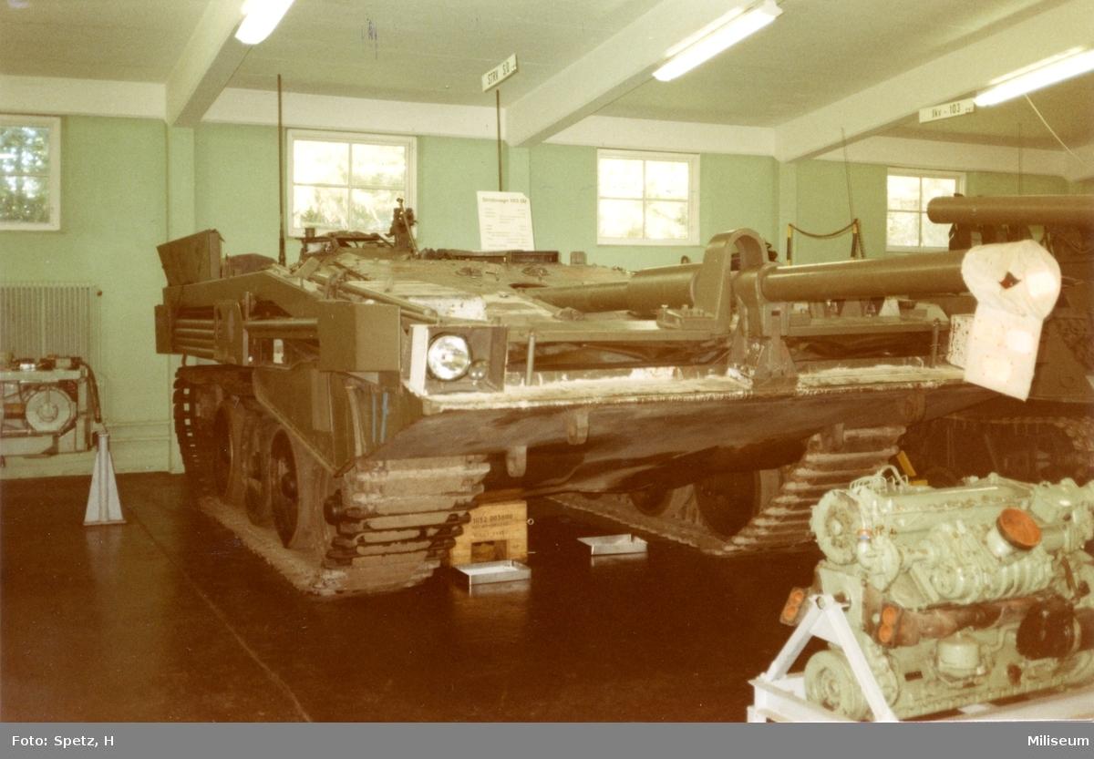 Pansarmuséet, Axvall. Stridsvagn 103.