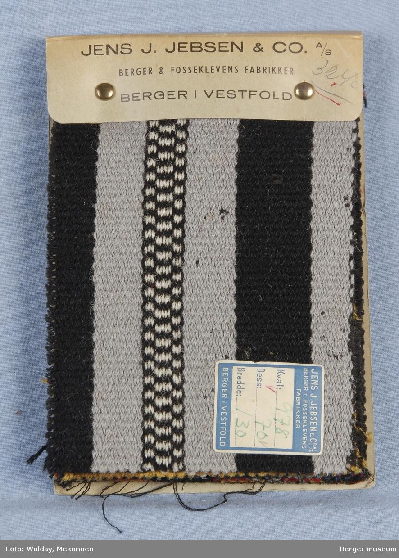 Møbelstoff 8 prøver Striper