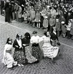 Majgubbar mellan åren 1964 till 1968.
