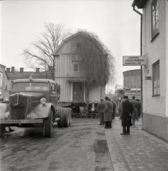 Första husflytten till Gamla Linköping